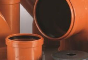 200mm Drainage Pipe & Fittings
