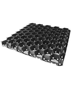 40mm Black Deep Ground Grid 330mm x 330mm