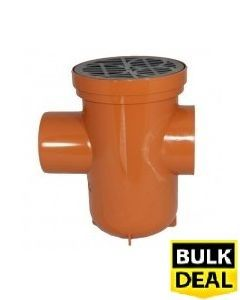 110mm Bottle Gully £6.35 Back Inlet (Roddable) x 100